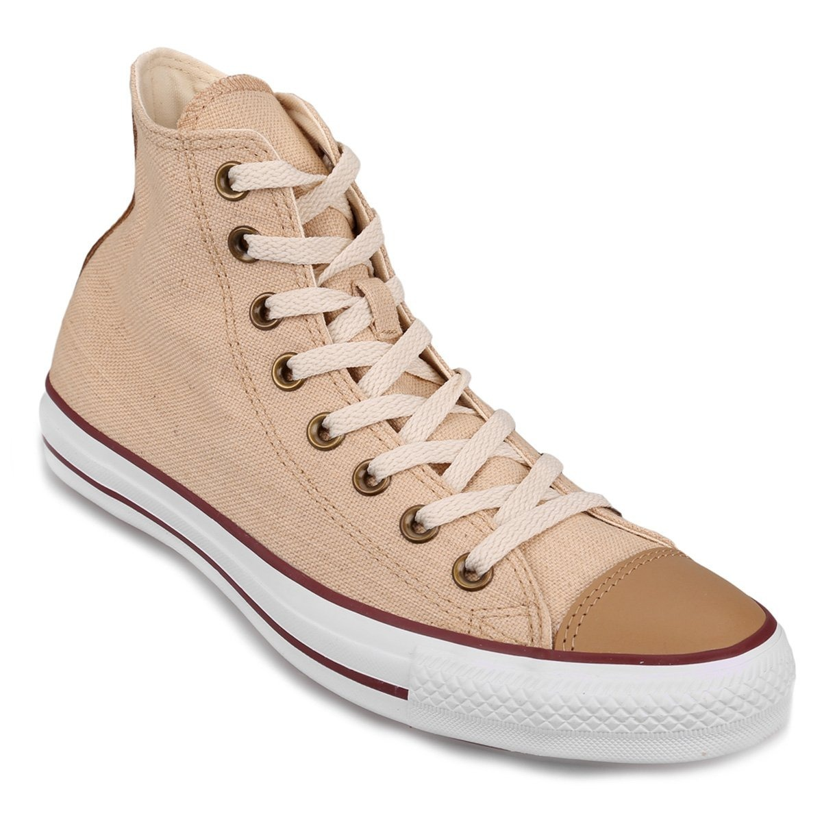 Zapatillas Converse Chuck Taylor All Star Linen Hi Natural