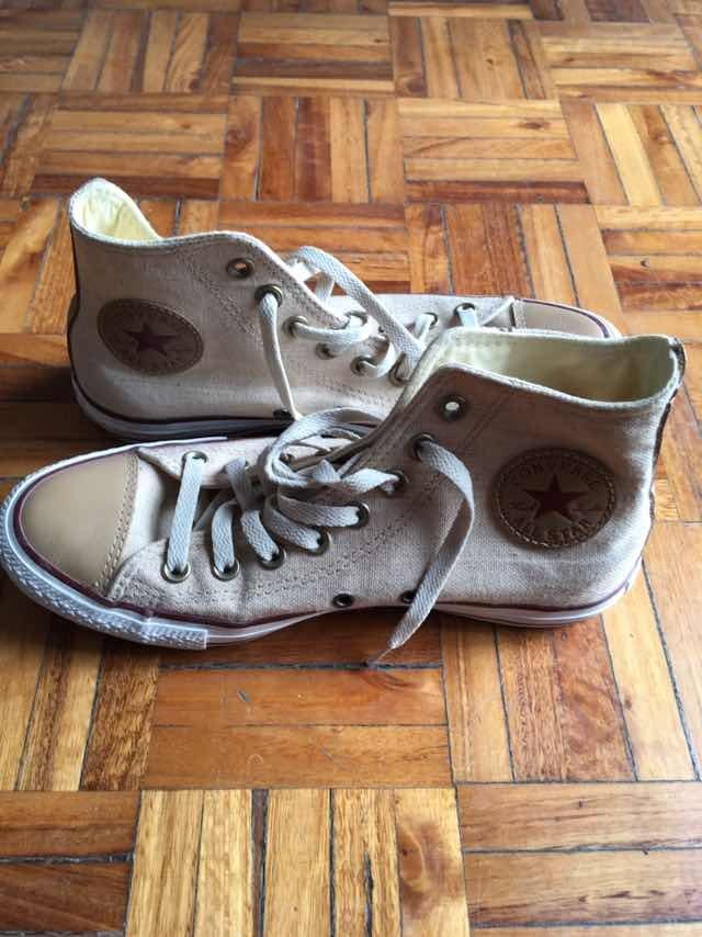 e7e035968aa zapatillas converse chuck taylor all star linen hi. nuevas!! Cargando zoom.