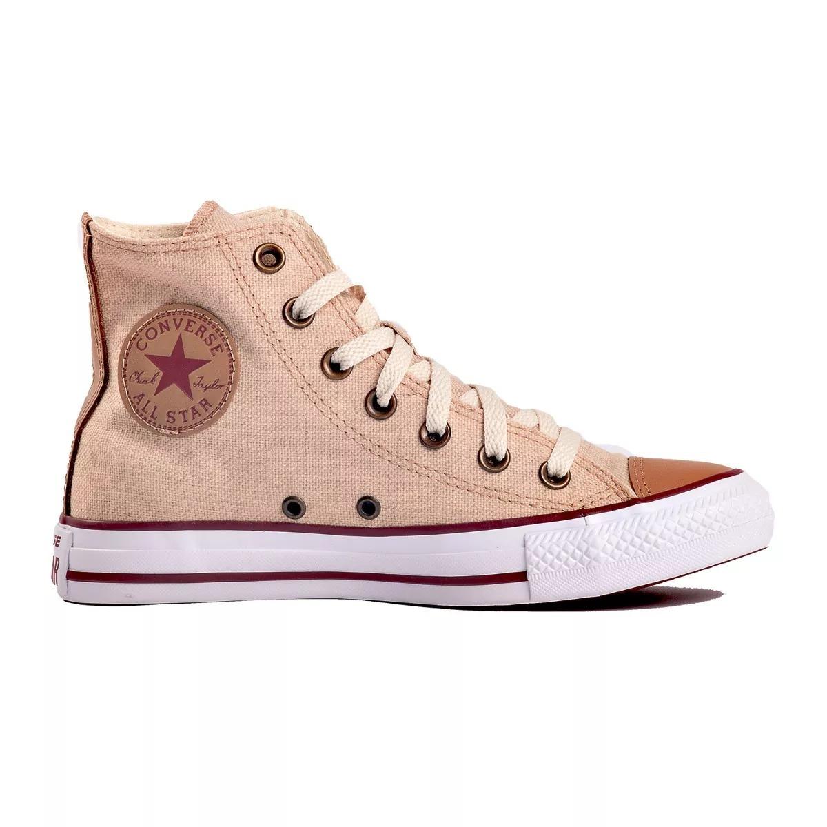 46d2d239ffc zapatillas converse chuck taylor all star linen - natural. Cargando zoom.