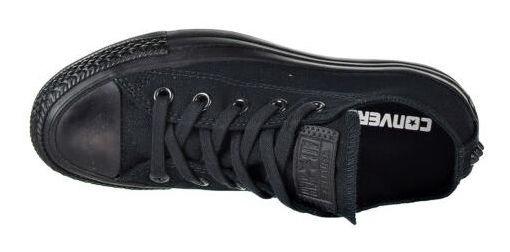 zapatillas negras chuck taylor all star ox de converse