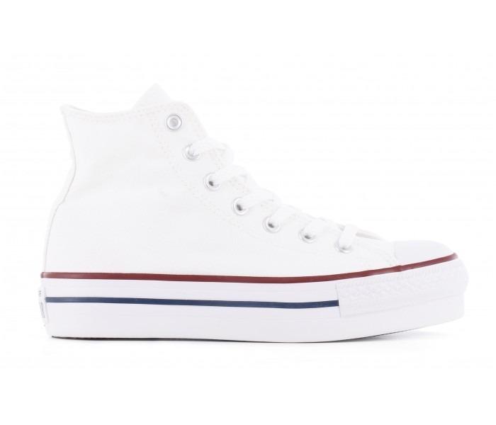 1e696dc62b Zapatillas Converse Chuck Taylor All Star Platform Hi White ...