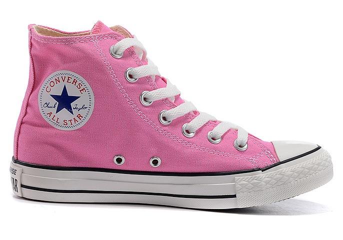 converse all stars rosa