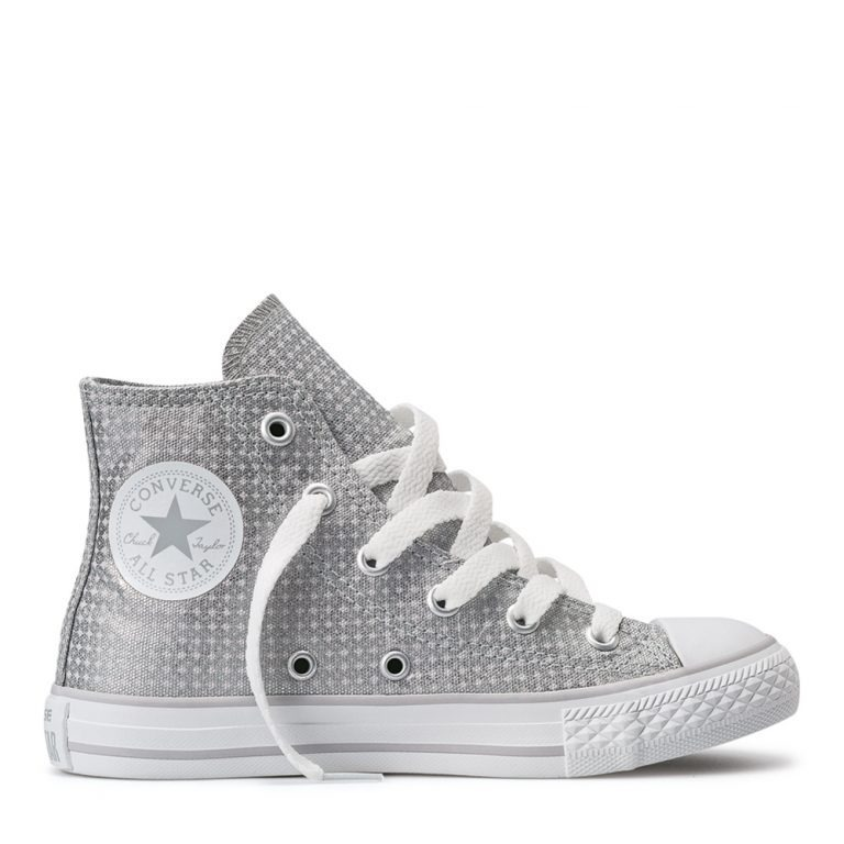 25258158b Zapatillas Converse Chuck Taylor All Star Shine Hi Silver -   1.390 ...