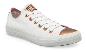 zapatillas converse blancas mujer