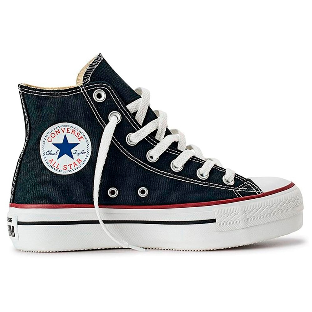 converse mujer negras 38