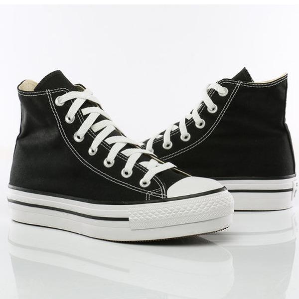 Zapatillas Converse Chuck Taylor Hi Plataforma Black -   3.199 ee579e4573829