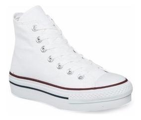 diseño elegante precio baratas último descuento Zapatillas Converse Chuck Taylor Plataforma Botas Blancas