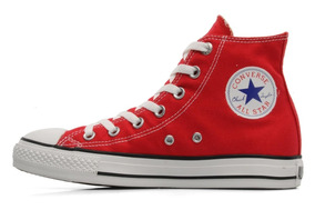 zapatillas converse hombres rojas