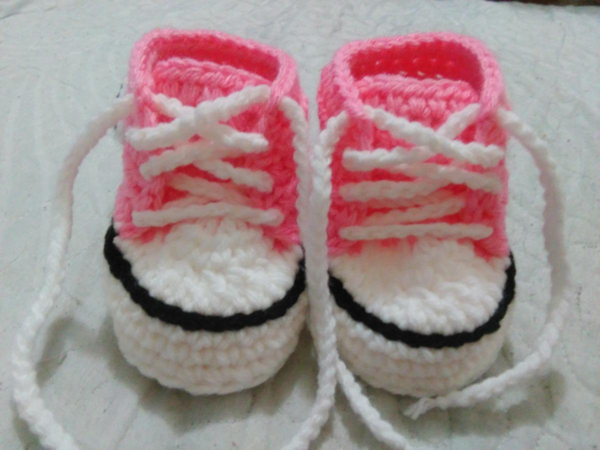 zapatillas converse crochet