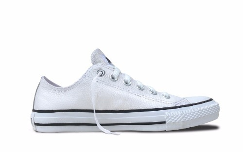 c3148c64b Zapatillas Converse Ct All Star Leather Ox Cuero Blanco -   2.017