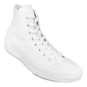 converse monochrome white