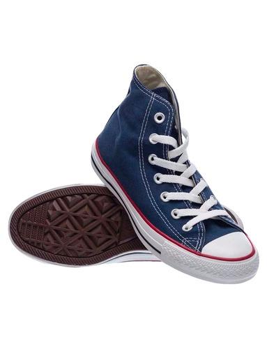 zapatillas converse ctas core hi navy (652515b) c652515b