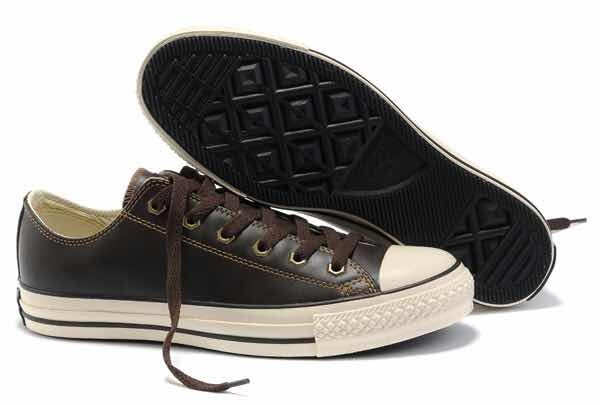 zapatillas converse piel hombres