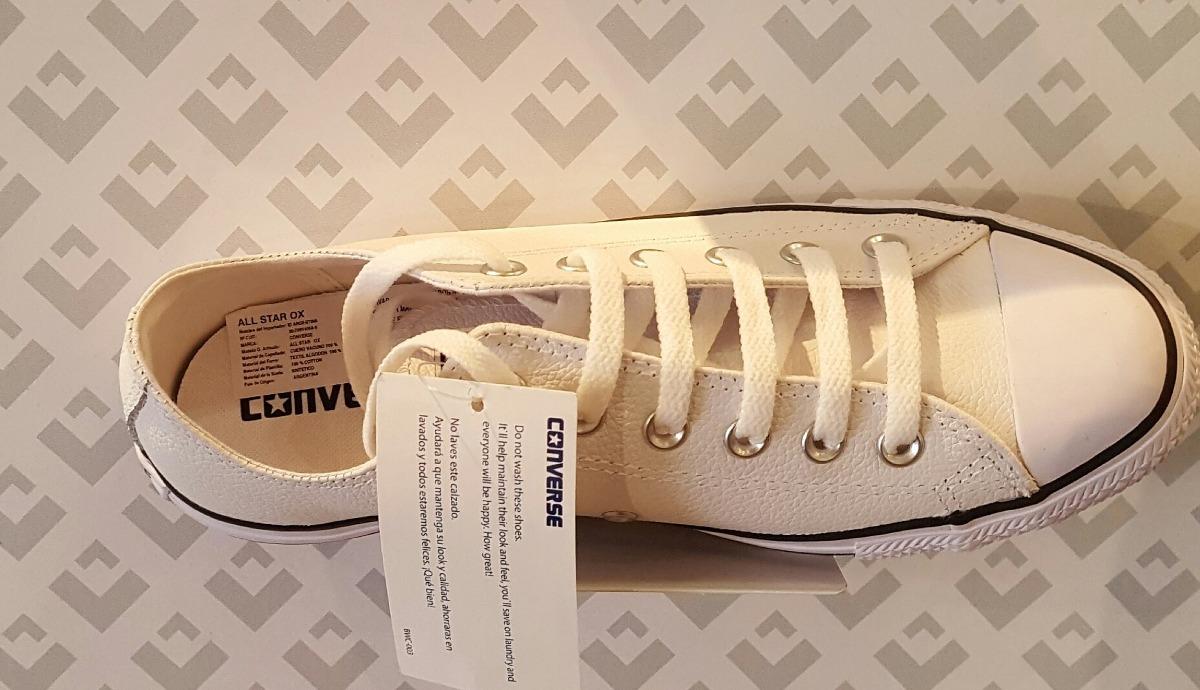 Zapatillas Converse Cuero Mujer Original Nuevo 23b