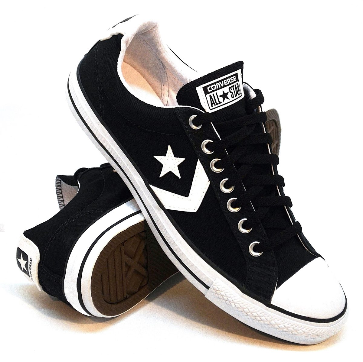zapatillas converse player negro