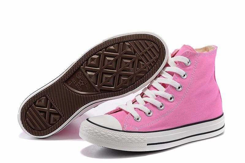 5934eb62ff9f7 zapatillas converse chuck taylor all star rosa mujer lona · zapatillas  converse mujer. Cargando zoom.