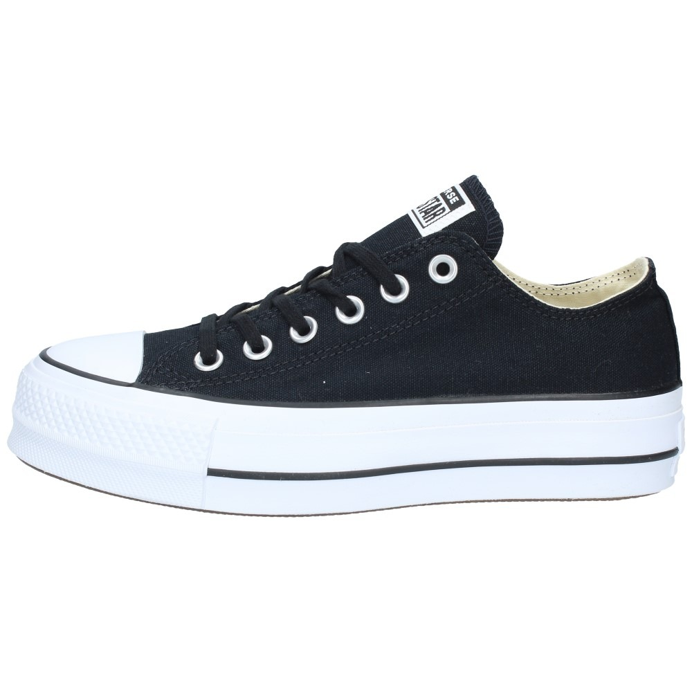 7a43afb9d2 zapatillas converse mujer chuck taylor all star lift negra-1. Cargando zoom.
