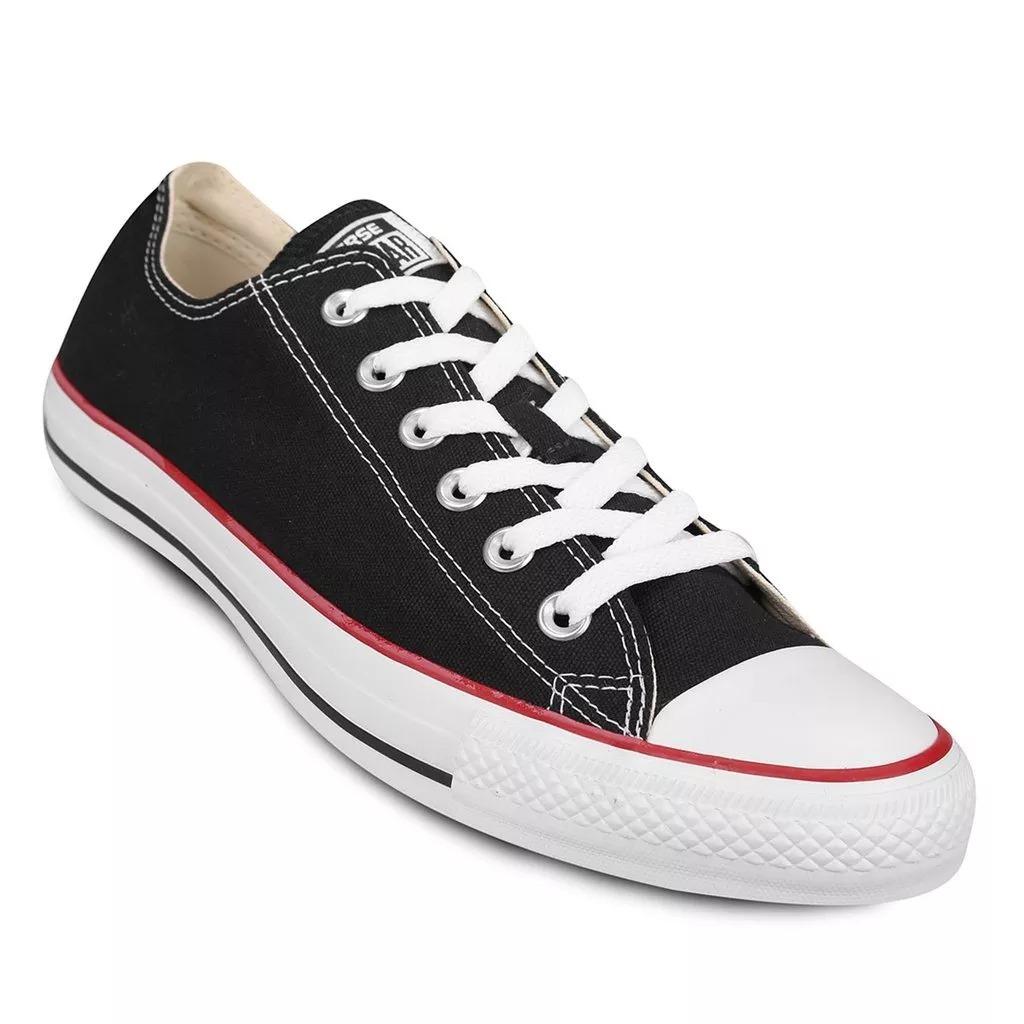 zapatillas converse mujer negras