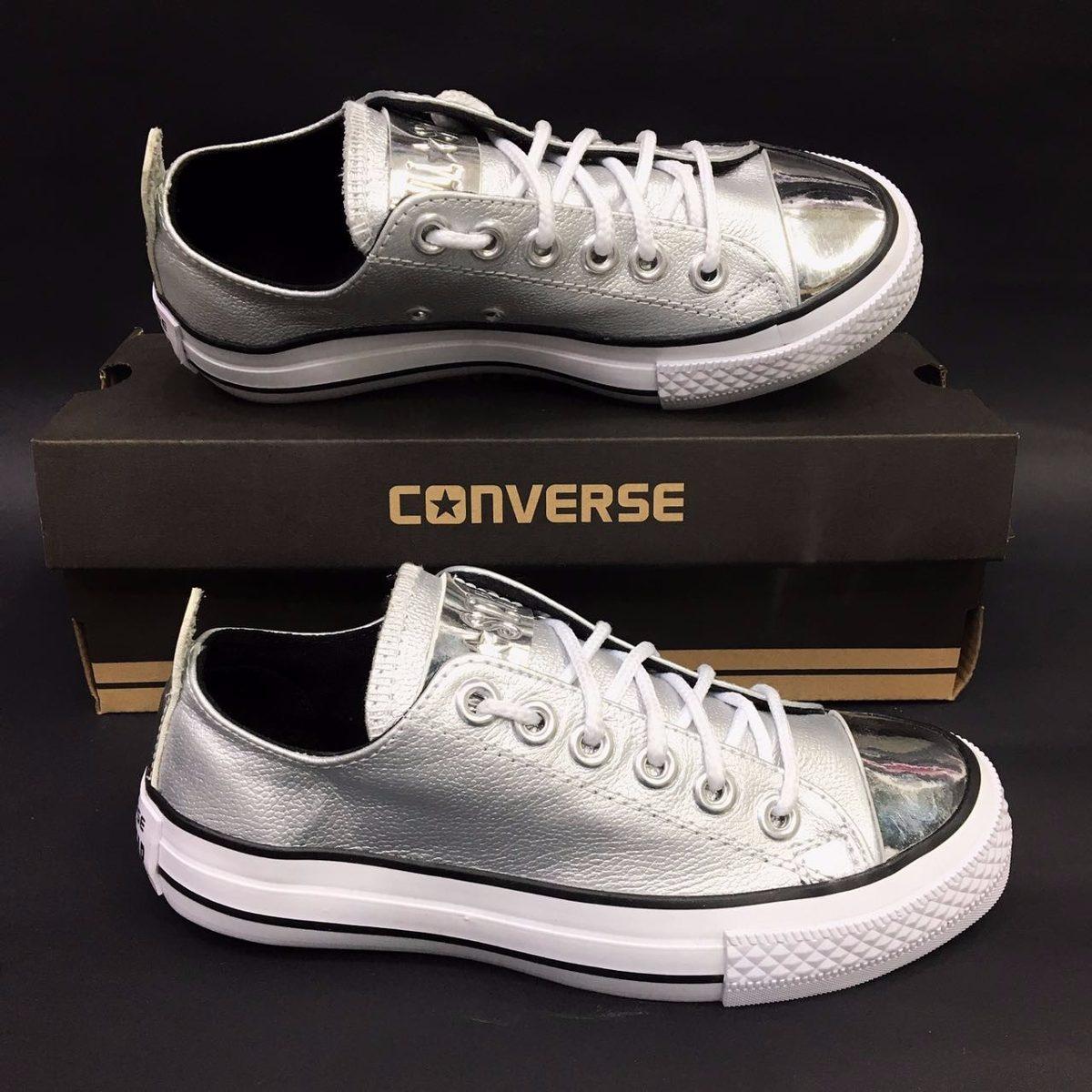 zapatillas mujer converse piel