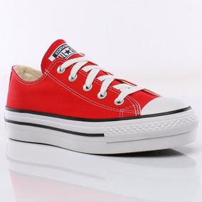 zapatilla converse roja mujer