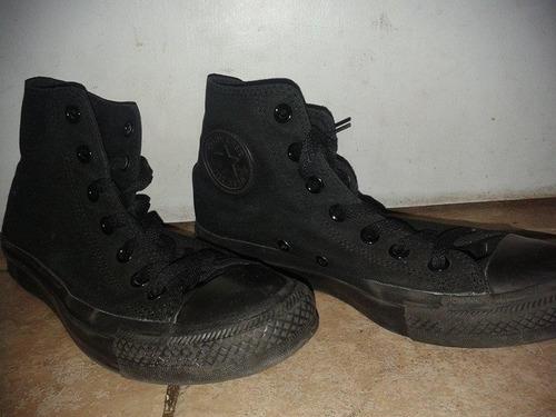 zapatillas converse negras hombre o mujer 37,5