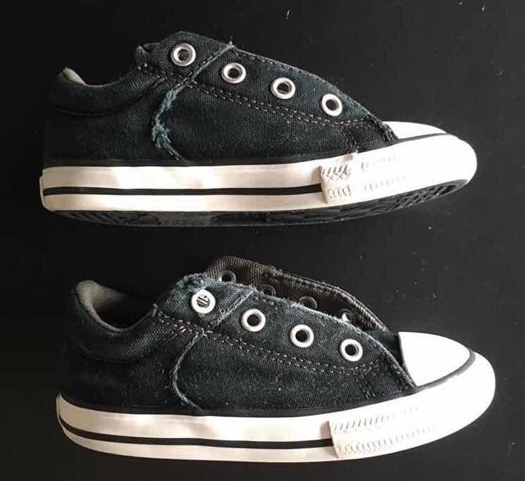 zapatillas converse negras niño