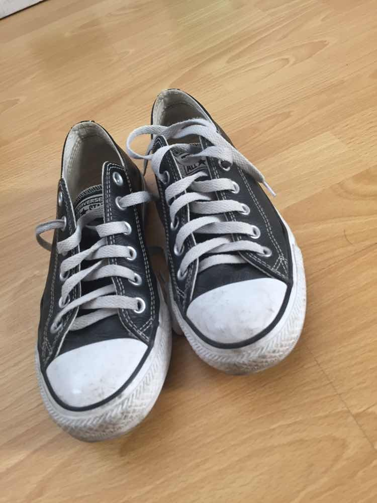 112053132c1 Zapatillas Converse Negras