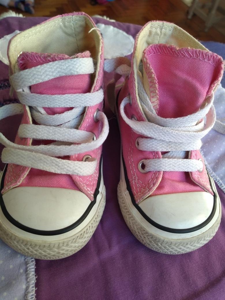Zapatillas Converse Niña Importadas Talle 20 $ 850,00