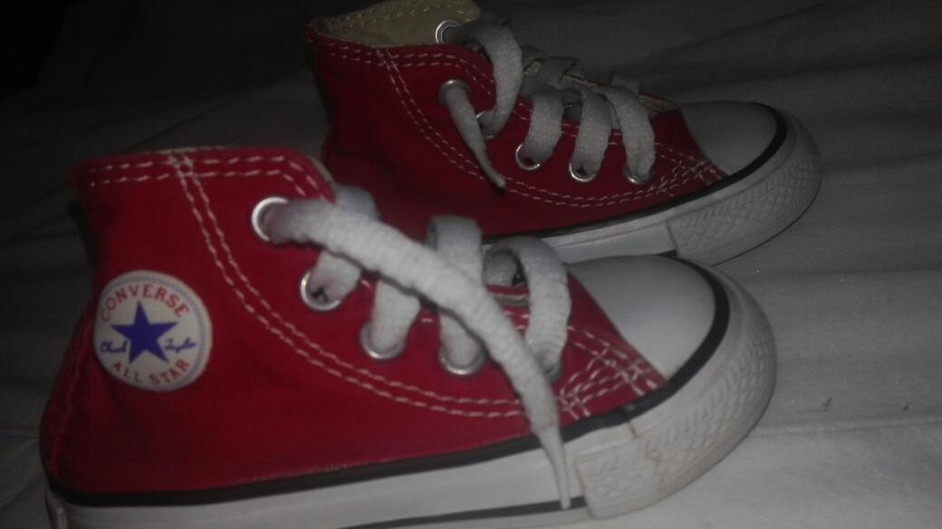 a769b152a0a Zapatillas Converse Numero 20 -   9.000 en Mercado Libre