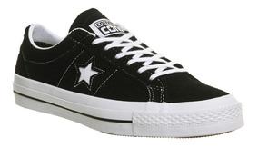 Zapatillas Converse One Star! Cuero Descarne Negro!lunarlon