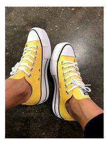 converse amarillas mujer no original
