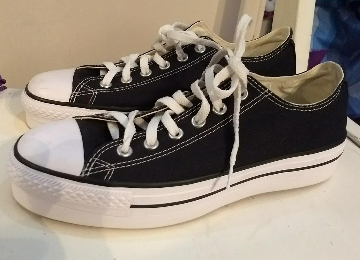 zapatillas converse plataforma mercadolibre