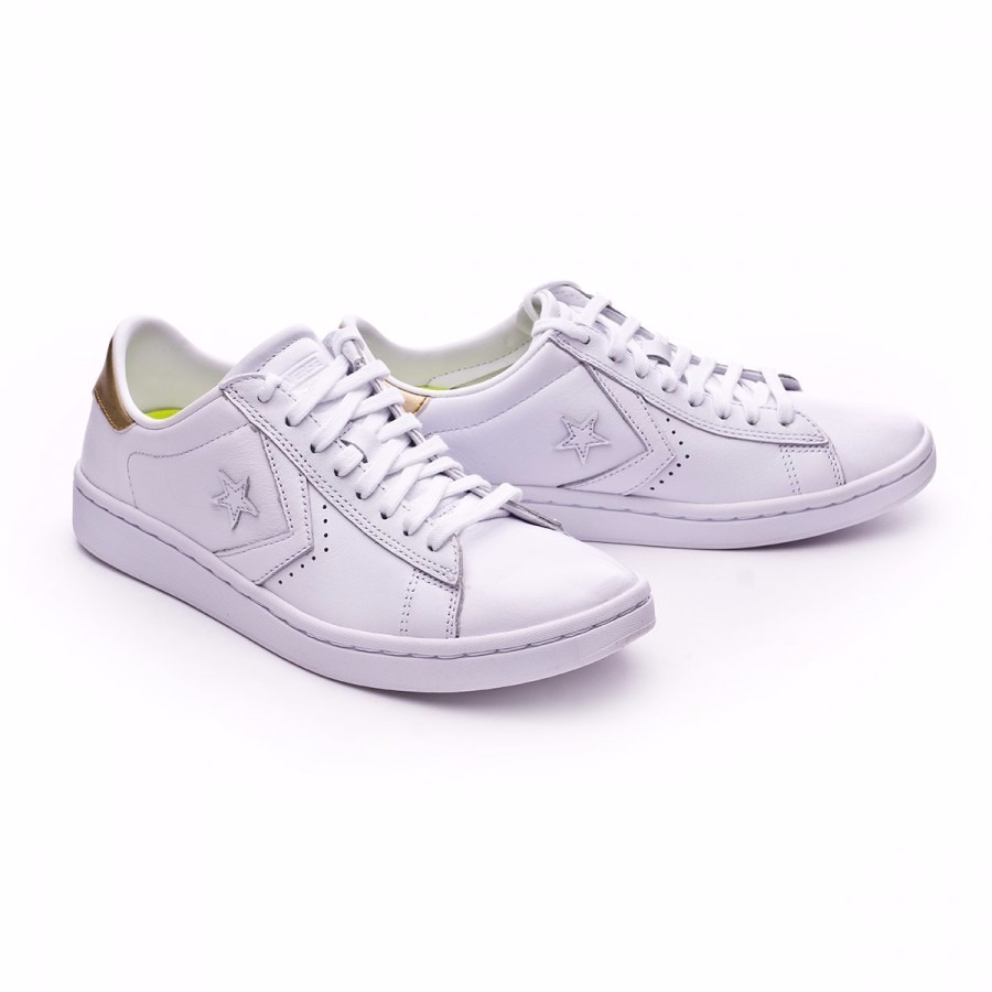 converse leather blancas