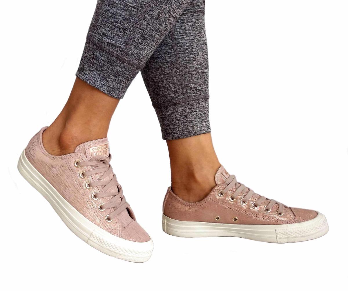 76cd2b383f525 zapatillas converse rosa con destellos chuck taylor u s a. Cargando zoom.