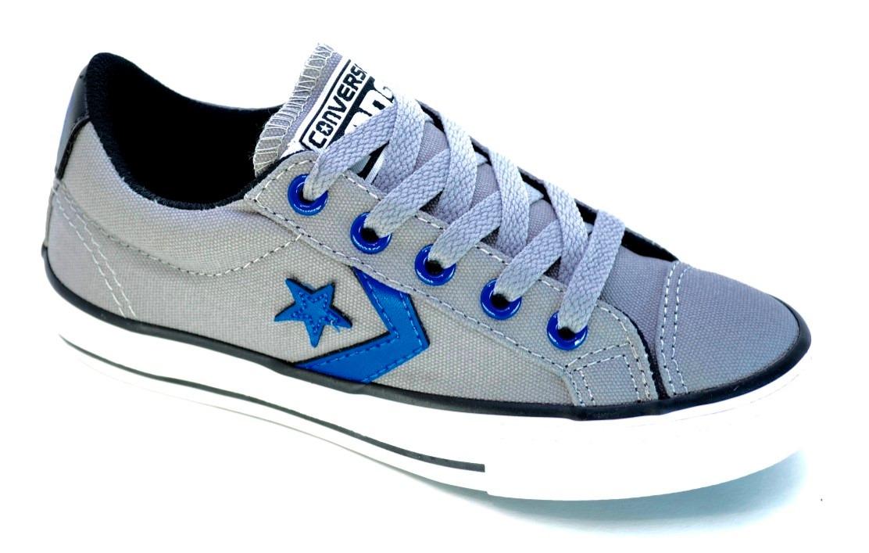 zapatillas converse star player ev ox kids niños gris c azul. Cargando zoom. a2d481c547d