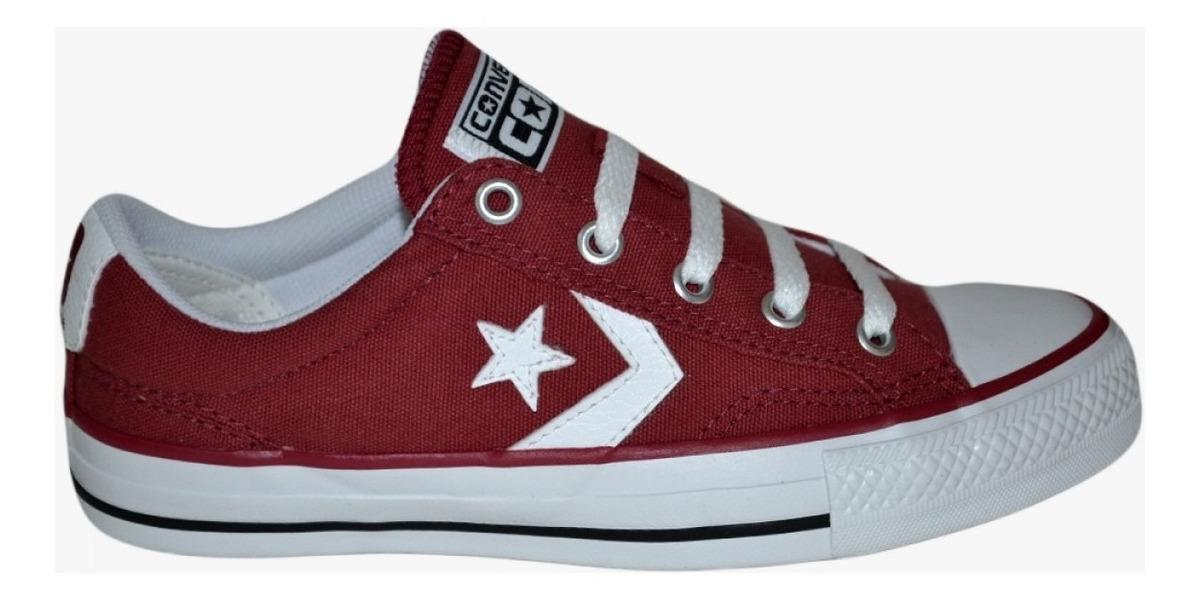 converse star player rojo