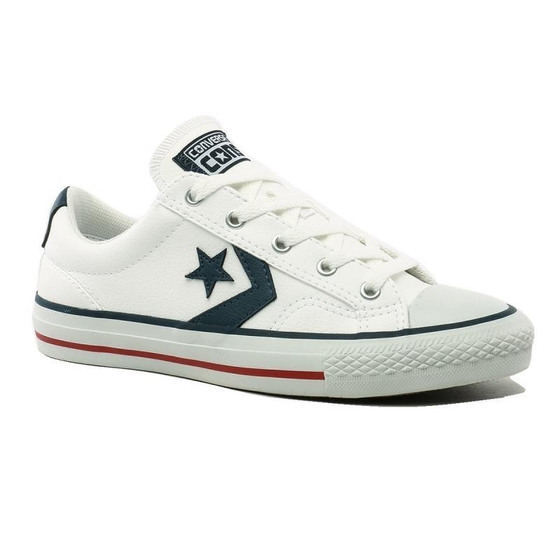 zapatillas converse blancas cuero mercadolibre