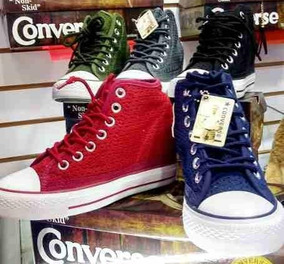 zapatillas converse tacon