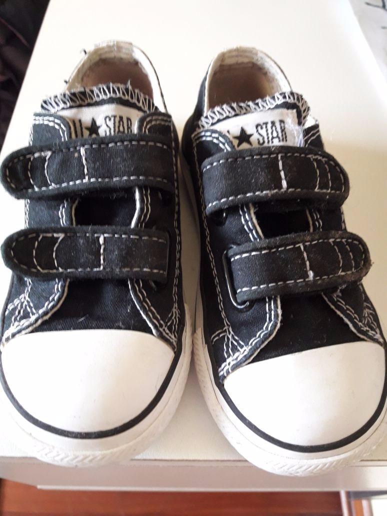 zapatillas converse velcro niño