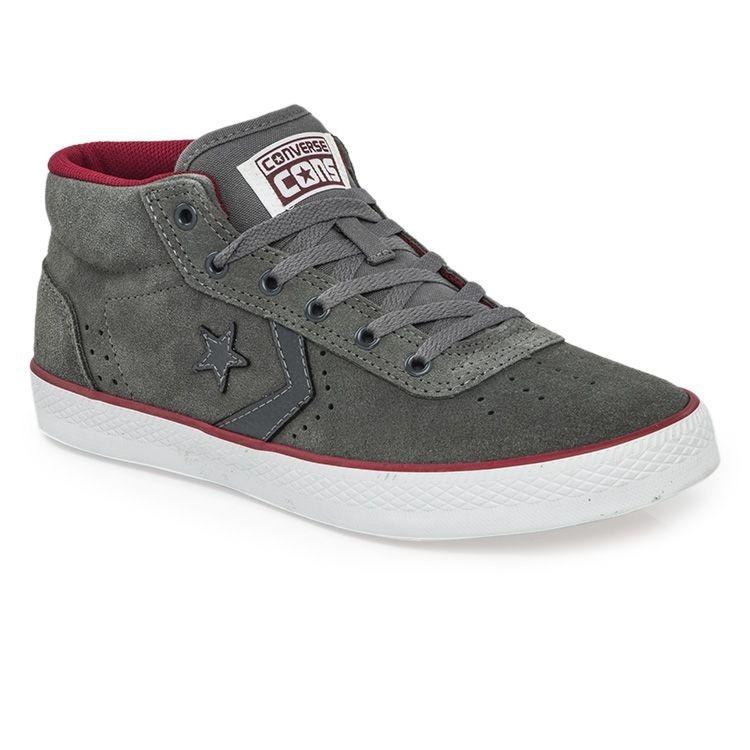 a3830e18d ... good zapatillas converse wells mid gris rojo cuero ultimo 40.5 19f2e  232c9