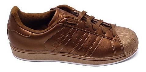 tout neuf 43bad 3db92 Zapatillas Dama adidas Superstar Bronze # Bb8140 H