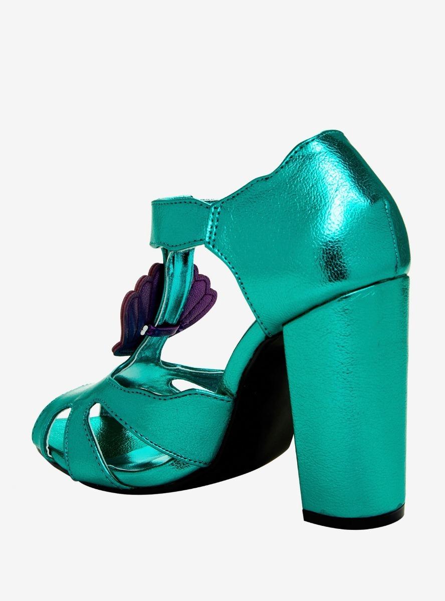 Zapatillas Dama Disney Sirenita Ariel Agua Original Hottopic