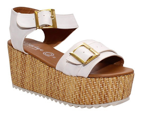 Carters Blancas Tacon Wedge Preciosas Zapatos Bordadas Alpargatas 80OwkPn