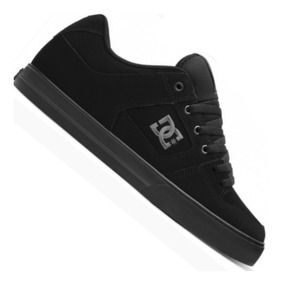 zapatillas dc negras hombre