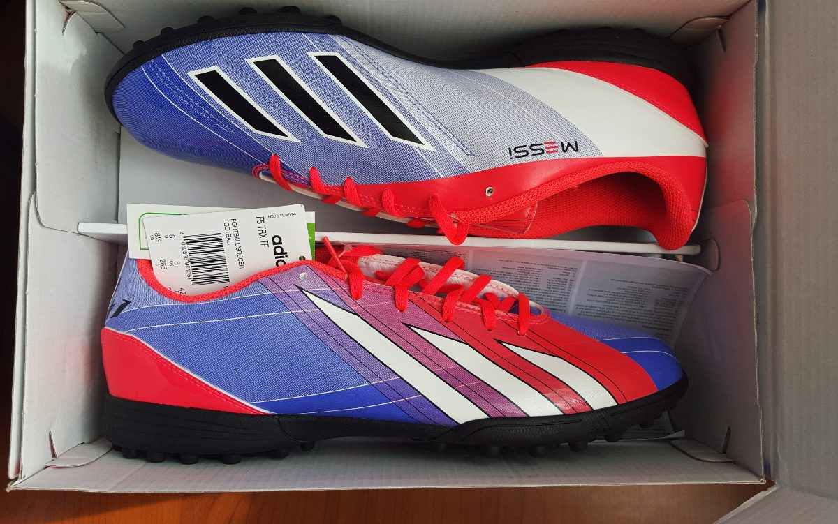 Adidas F5 Messi zapatillas de baby fútbol adidas f5 messi nuevos!! - $ 22.990 en