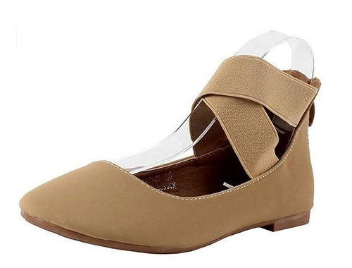zapatillas de baile con elástica y cierre bella marie stacy