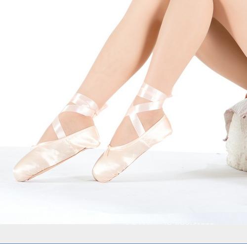 zapatillas de ballet profesionales de puntilla + siliconas