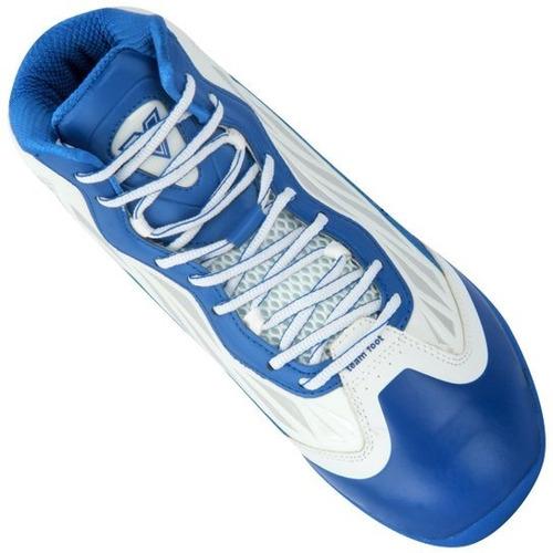 zapatillas de basquet team foot 14 killer blanco francia