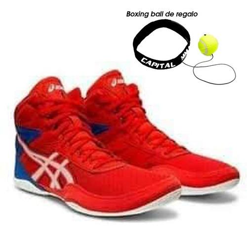 zapatillas de boxeo y lucha asics matflex 6