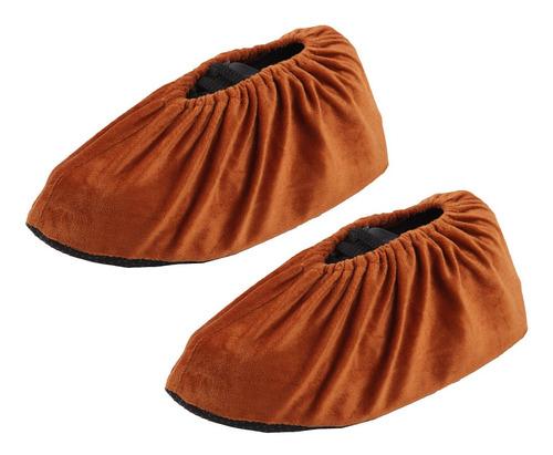 zapatillas de casa lavables y reutilizables. cubre zapatos.